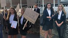 'Gender neutral' school uniform sparks protests