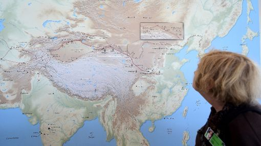 Parasites hitch ride down Silk Road