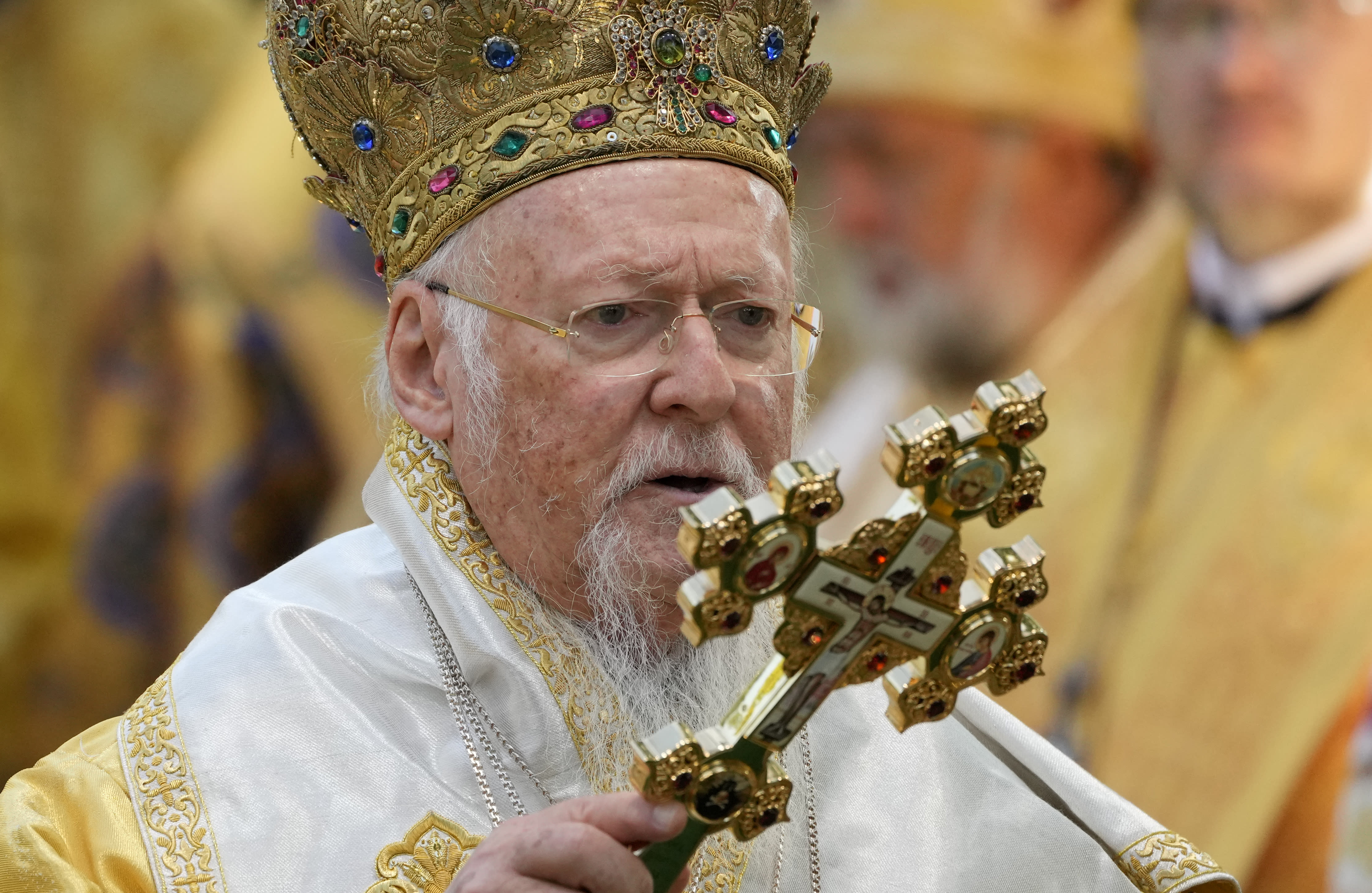 Orthodox patriarch hospitalized at start of 12-day US visit