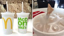 McDonald's urged by customers to ditch 'useless' paper straws