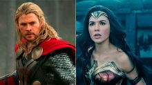¿Quién ganaría una pelea entre Thor y Wonder Woman? Chris Hemsworth tiene la respuesta