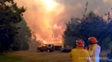 'Brace Yourself': Firefighters Warn Of Uncontrollable Bushfires Blazes As Temperatures Soar