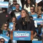 AOC officially endorses presidential candidate Bernie Sanders
