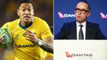 'Completely corrupted': Claims of 'hypocrisy' in RA's treatment of Israel Folau
