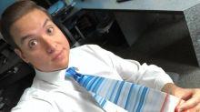 Por qué tantos meteorólogos decidieron usar esta peculiar corbata en todo el mundo
