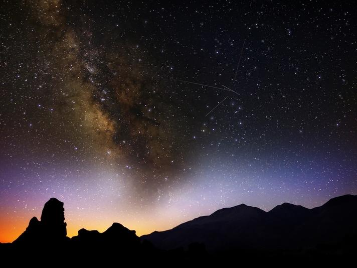 The Delta Aquarids — and all meteor showers — are best viewed in dark skies, away from light-polluting crowds of people.