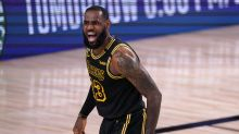 LeBron James ties NBA record for most wins in the playoffs