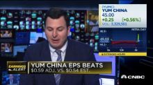 Yum China beats on top and bottom lines