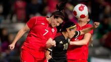 Former Canadian international Rhian Wilkinson now part of England coaching setup