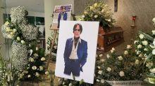 El último adiós a Alfredo Palacios: amigos y familiares lo despidieron en emotiva ceremonia