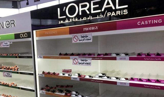 France urges Arab nations to stop boycotts of French products over Macron's defence of prophet cartoons