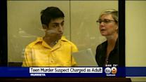 Teen Accused Of Killing Boy, 15, Makes First Court Appearance