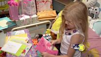 7-year-old in hospital receives over 500 birthday cards