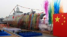 China launches new class of naval destroyer