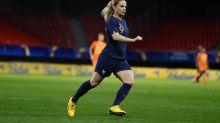 Foot - Bleues - Équipe de France féminine: Eugénie Le Sommer«pas hantée» par le record de Marinette Pichon