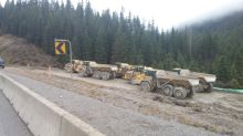 Rock slide blocking Trans-Canada near Field, B.C., has locals feeling isolated