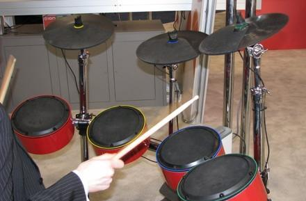 Ion Audio shows off prototype of alternate Rock Band drum set at CES