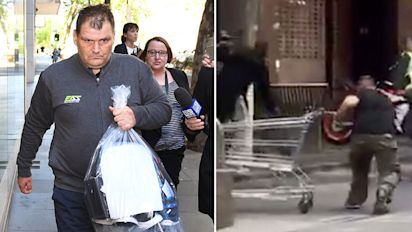 'Trolley Man' banned from Melbourne CBD