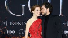 Kit Harington and Rose Leslie Are the Cutest at the Game of Thrones Final Season Premiere Party