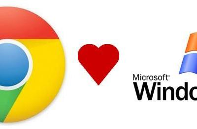 Google to support Chrome for Windows XP until the end of 2015