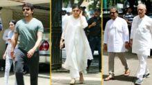 Pics: Gulzar, Vishal Bhardwaj Pay Last Respects to Khayyam