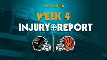 Jags Week 3 injury report: DJ Chark practices on a limited basis Wednesday