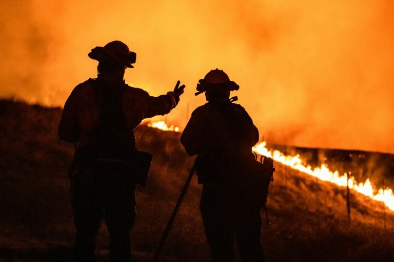 Climate change amplifies extreme weather like droughts, which create ideal conditions for wildfires
