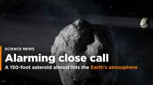A 150-Foot Asteroid Flew Alarmingly Close to Earth Just Hours After Being Spotted