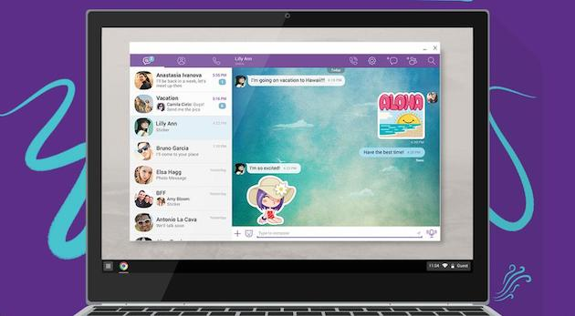 Viber's calling and messaging app launches on Chromebooks