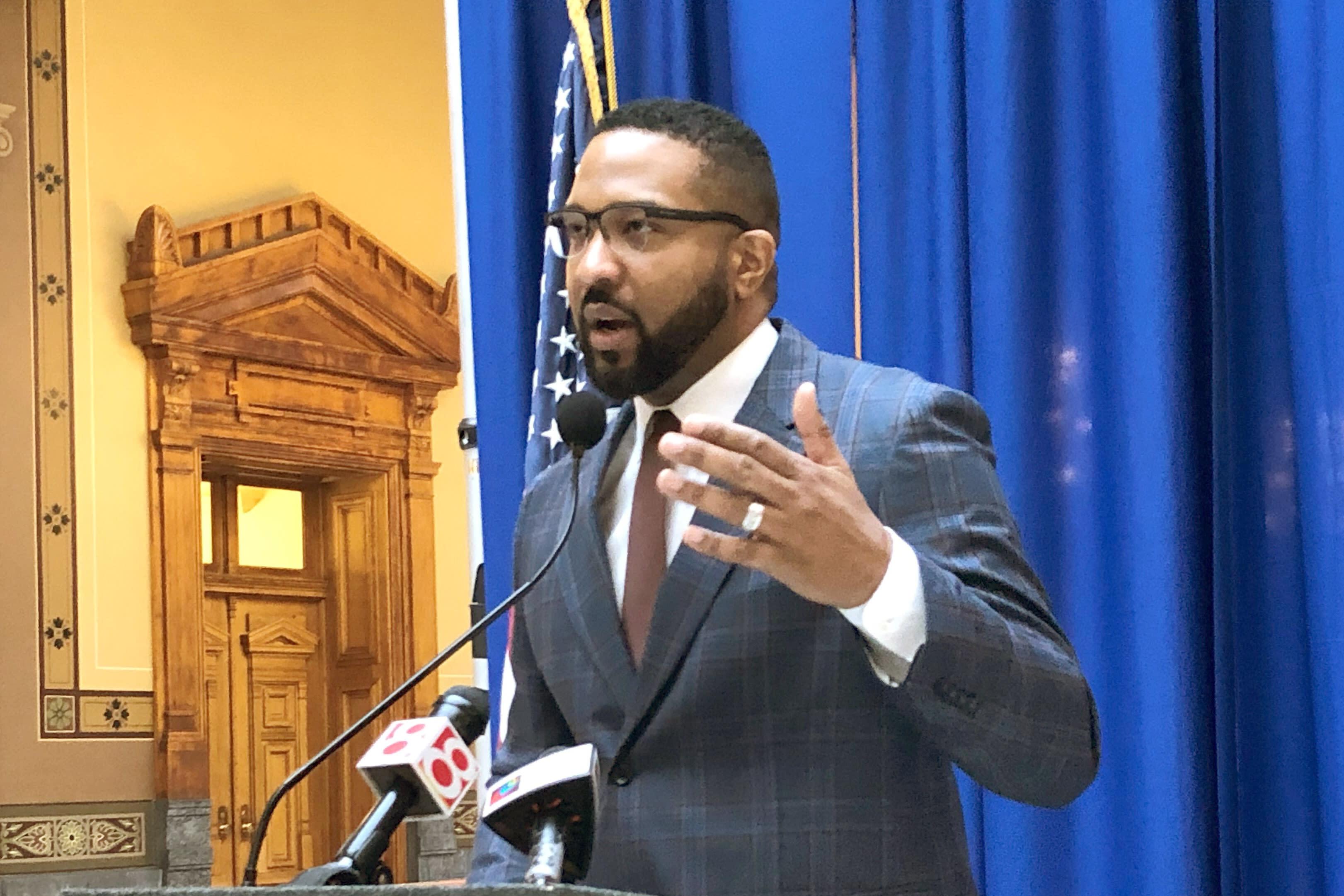 Black Legislator Confrontation