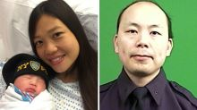 Widow of slain NYPD officer gives birth to their daughter more than 2 years after his death