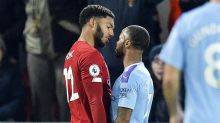 England's Sterling and Gomez clear the air