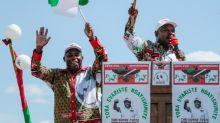 Burundi president applauds chosen successor on election win