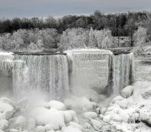Photos: Niagara Falls transforms into majestic winter wonderland following Arctic blast