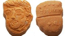 Donald Trump-Shaped Donald Trump-Orange Ecstasy Pills Seized By Police
