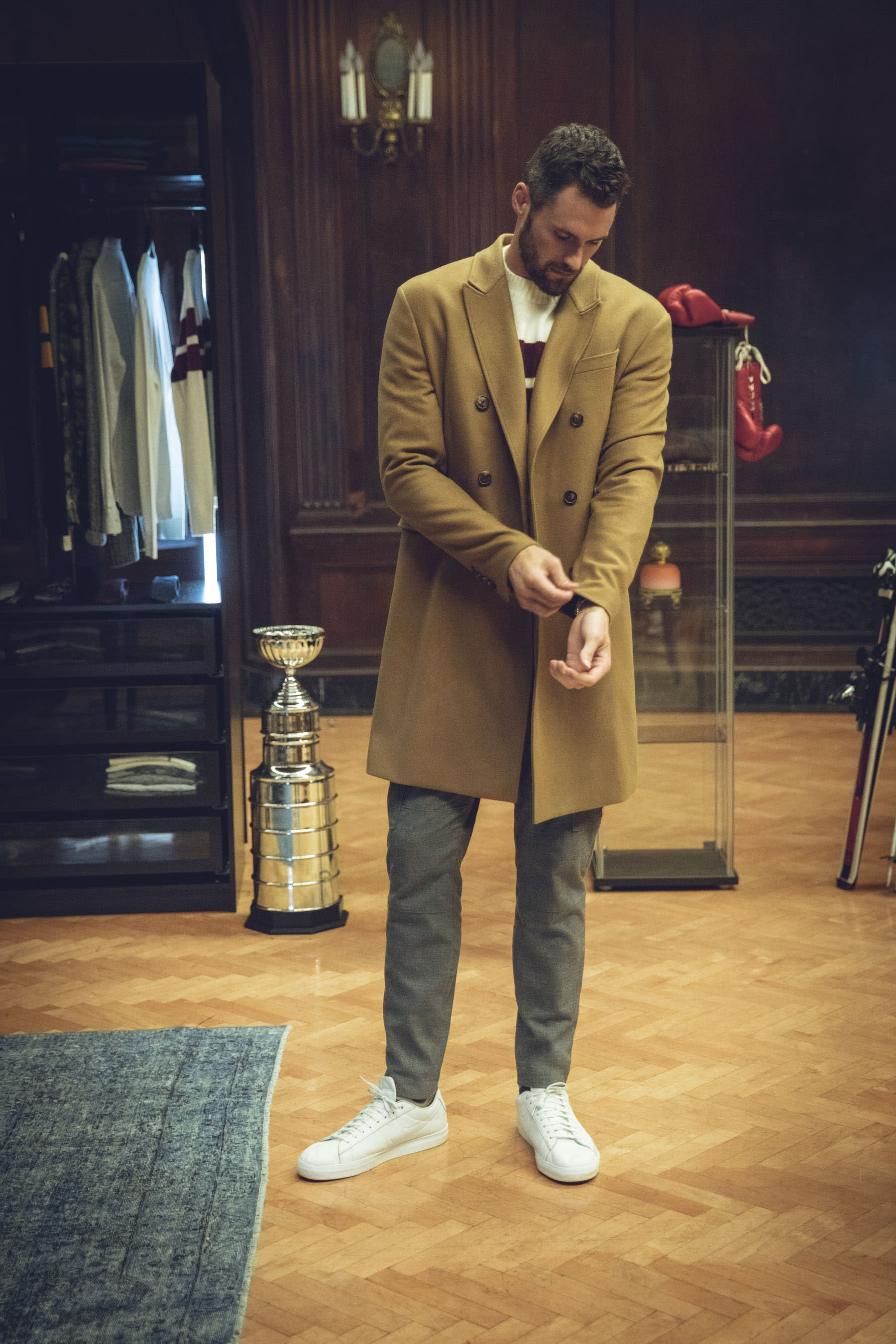 539c78f81946b NBA Star Kevin Love Makes Debut as Designer with First Banana Republic  Collection
