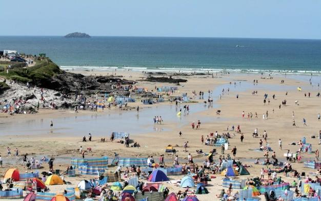 <p> Despite being one of the most popular beaches in north Cornwall, Polzeath still somehow manages to maintain a laid-back, typically Cornish character. The influx of families, surfers, bodyboarders, kayakers and sunbathers all mix happily on this glorious beach in unspoilt surroundings.  <strong>Best for:</strong> Everyone. Last time I was here it was pouring with rain... but the kids still absolutely loved running around in their wetsuits on the open sands.</p>