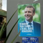 Macron pitches for broad centrist alliance after EU elections