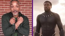 Will Smith casi lloró con Black Panther
