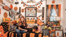 Take a Tour of a Salem, MA Home That's Decorated for Halloween ALL YEAR LONG