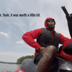 Julio Jones Lost a $100,000 Earring While Jet Skiing and Hired Divers to Find It