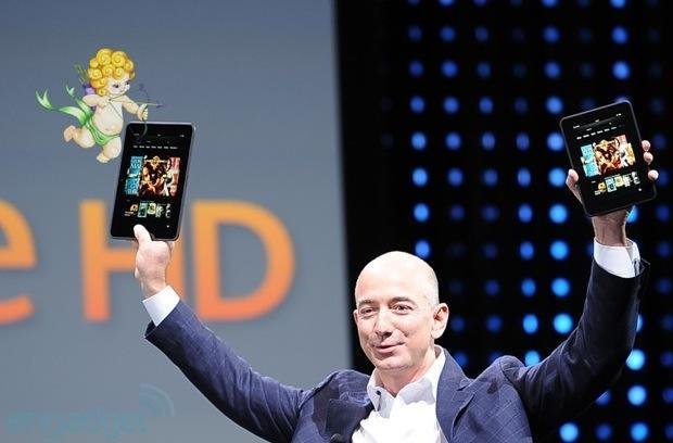 Amazon discounts 8.9-inch Kindle Fire HD models as part of Valentine's Day promo