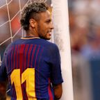 Gerard Pique suggests Neymar's proposed £195m PSG transfer is not happening with 'he stays' tweet