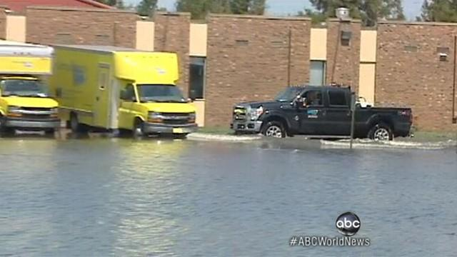 Isaac Aftermath: Elementary School Flooded