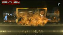 ISIS propaganda video celebrating Brussels attacks uses Trump's voice and photo