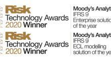 Moody's Analytics repete IFRS 9 e ganha prêmios de Tecnologia de Risco