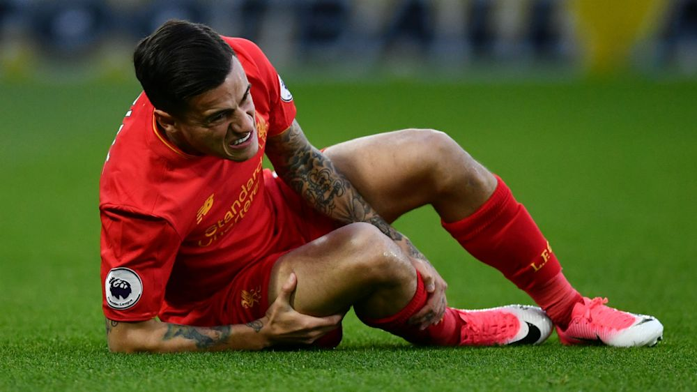 Coutinho forced off in Liverpool's clash at Watford