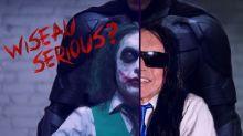 Watch Tommy Wiseau and Greg Sestero Re-Enact 'The Dark Knight' Interrogation Scene (Video)