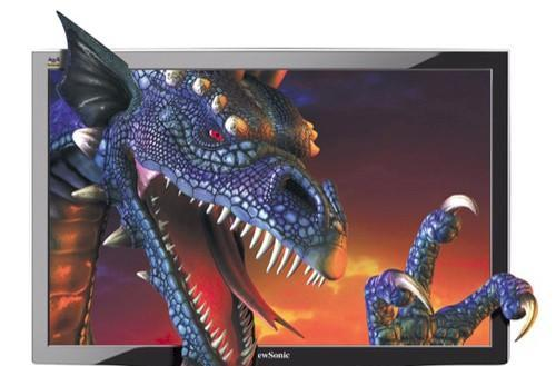 ViewSonic shows off a 120Hz LCD computer display