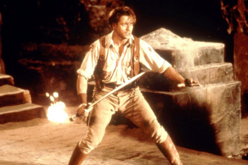 Brendan Fraser in 'The Mummy,' 1999